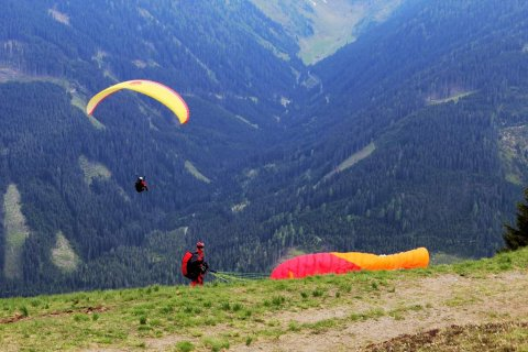 Paragleiten in Obertilliach